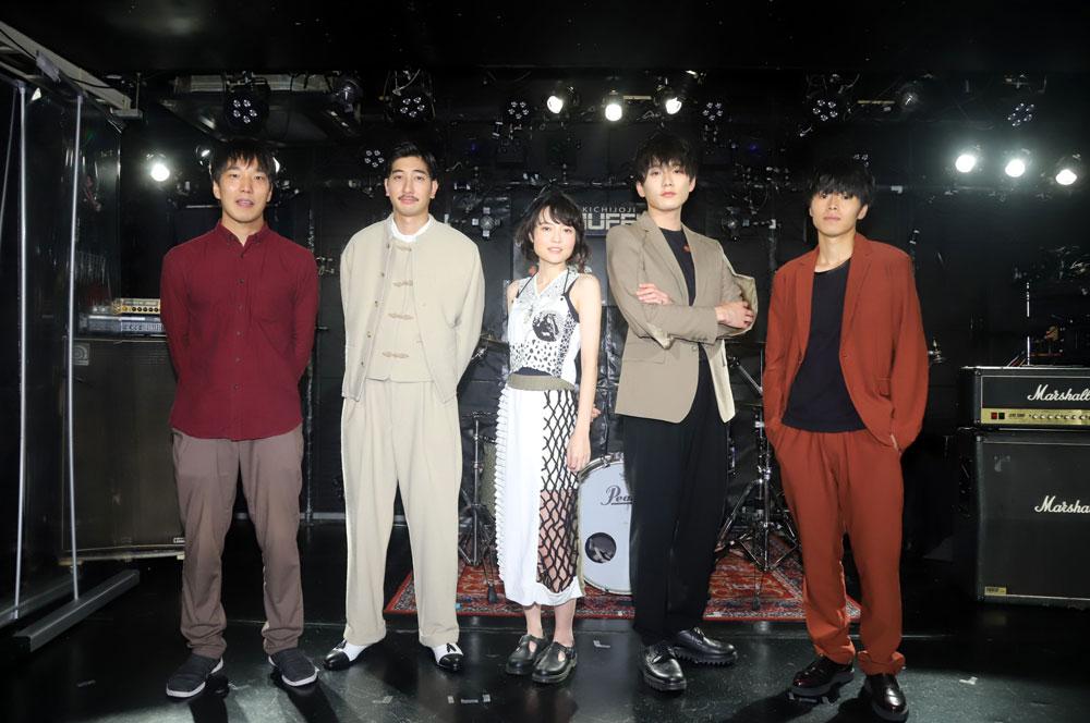 映画「東京バタフライ」公開直前トークイベントを、ライブ会場で開催。映画初主演の白波多カミンは「自分と安曇がどんどん重なっていった」