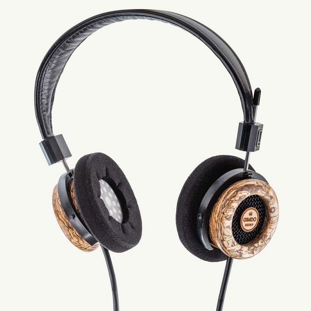 GRADOからウッドハウジングの新作ヘッドホン「The Hemp Headphone」が登場。麻を使用した美しい模様が特徴