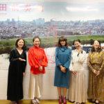 松林うららプロデュース作『蒲田前奏曲』の先行上映会が実施。女子会メンバーが集結し、賑やかな雰囲気に