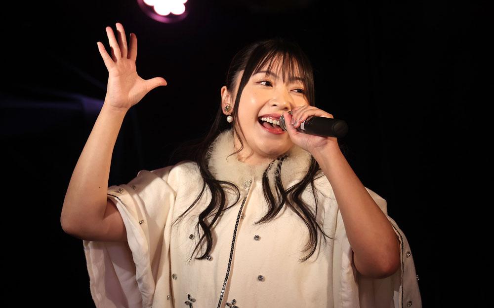 「ミライスカート+」、東京での新ワンマン・ライブ・シリーズ『おいでやす!ギュッとミライスカート+ vol.1~MIRAISTART!~』を盛大に開催。約80分間、フルコーラスで歌いまくる